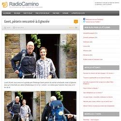 Geert, pèlerin rencontré à Eghezée par RadioCamino