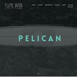 PELICAN — plume d'avion plumedavion