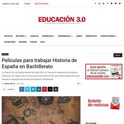 PELÍCULAS HISTORIA ESPAÑA