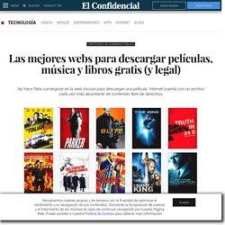 Películas: Las mejores webs para descargar películas, música y libros gratis (y legal). Noticias de Tecnología