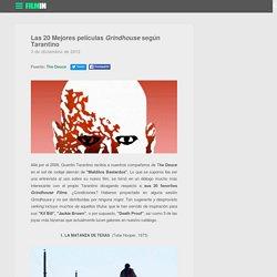 Las 20 Mejores películas Grindhouse según Tarantino en el blog de Filmin