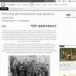 Películas del Holocausto que quizá no conocías