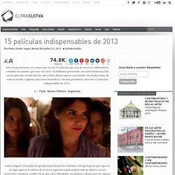 15 películas indispensables de 2013
