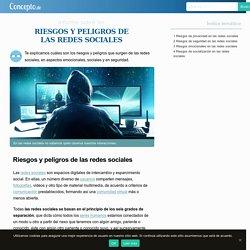 Riesgos y Peligros de las Redes Sociales (informe completo)