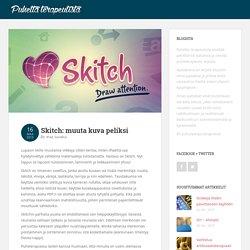 Skitch: muuta kuva peliksi