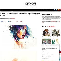 Artist Silvia Pelissero - watercolor paintings - StumbleUpon
