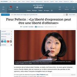 Fleur Pellerin : «La liberté d'expression peut être une liberté d'offenser»