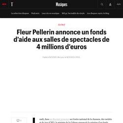 Fleur Pellerin annonce un fonds d'aide aux salles de spectacles de 4 millions d'euros
