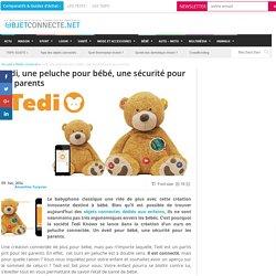 Tedi, la peluche connectée pour les bébés comme pour les parents