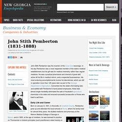 John Stith Pemberton (1831-1888)