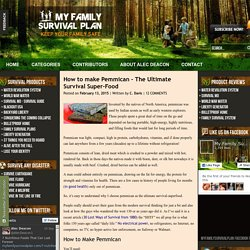 The Ultimate Survival Super-Food My Family Survival Plan