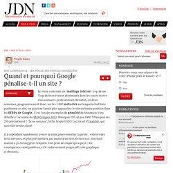 Quand et pourquoi Google pénalise-t-il un site ? - SEO Campus 2012 et pénalité Google - Journal du Net Solutions