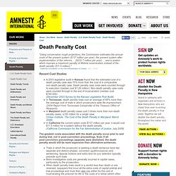 Death Penalty Cost