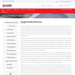 Google Penalty Recovery Services Sharjah, UAE, India, USA, UK