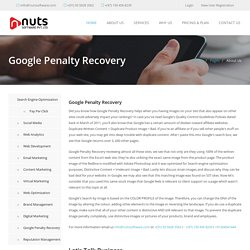 Google Penalty Recovery in Dubai