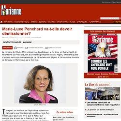 Marie-Luce Penchard va-t-elle devoir démissionner?