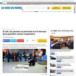 À Lille, les parents se penchent sur le berceau de la première crèche coopérative - Lille et ses environs