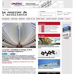 Pendant ce temps, à New York, Santiago Calatrava...