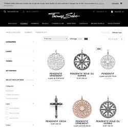 Pendentifs pour bracelets & chaînes - bijoux femme - THOMAS SABO