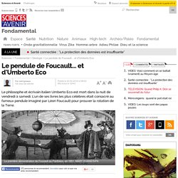 Le pendule de Foucault... et d'Umberto Eco