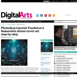 Pendulum's Immersion album cover art step-by-step - Tutorials