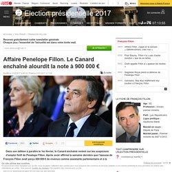 Affaire Penelope Fillon. Le Canard enchaîné alourdit la note à 900 000 €