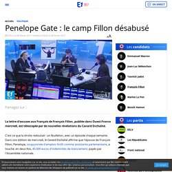 Penelope Gate : le camp Fillon désabusé