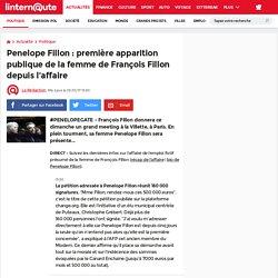 Penelope Fillon: première apparition publique de la femme de François Fillon depuis l'affaire