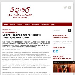 Les Pénélopes, un féminisme politique 1996-2004
