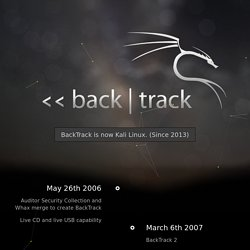 BackTrack Linux – Penetration Testing Distribution