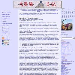 Peng Chau's Tung Wan Beach - Daai Tou Laam Diary