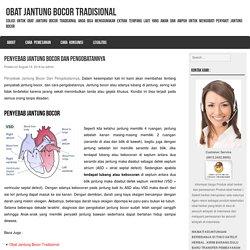Penyebab Jantung Bocor Dan Pengobatannya - Obat Jantung Bocor Tradisional