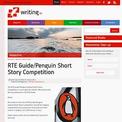 RTE Guide/Penguin Short Story Competition