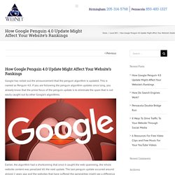 How Google Penguin 4.0 Update Might Affect Your Website's Rankings