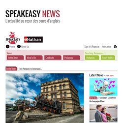 From Penguins to Steampunk… – Speakeasy News