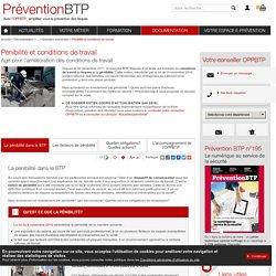 Pénibilité et conditions de travail / Dossiers prévention / Information / Explorer par produit