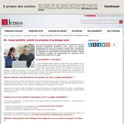 Compte pénibilité : priorité à la prévention et au dialogue social