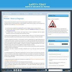 Pénibilité : mener le diagnostic. - Le blog de safetyfirst