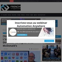 [Social Media Mag #8] L'invité: Jean-Noël Pénichon, Directeur du digital chez McDonald's