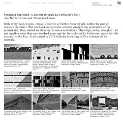 Peninsula imprinted. A traveler through Le Corbusier's Italy