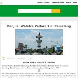 Penjual Walatra Zedoril 7 di Pemalang