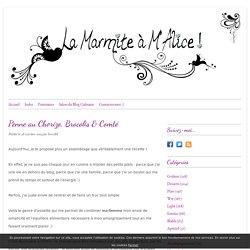 Penne au Chorizo, Brocolis & Comté -
