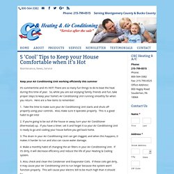 Air Conditioner Repair Montgomery County