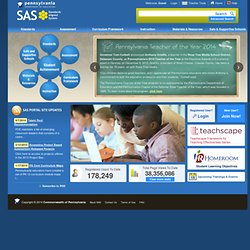 SAS - Pennsylvania Department of Education Standards Aligned System