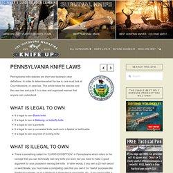 Pennsylvania Knife Laws - Knife Up