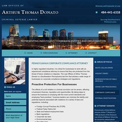 Philadelphia Business Lawyers & Corporate Compliance Attorney