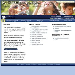 Child Support Program