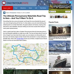 The Ultimate Pennsylvania Waterfall Road Trip