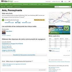 Visiter Avis : vacances et tourisme à Avis, Pennsylvanie