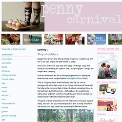 penny carnival: sewing